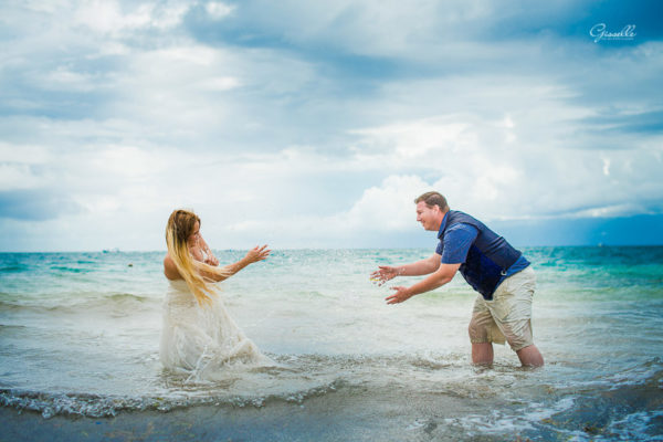 Kym & George Trash the Dress